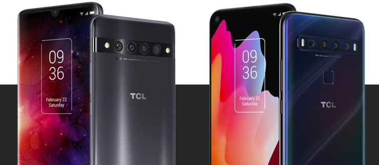 TCL 10 Pro and TCL 10L