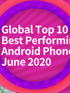 The most efficient Android smartphones in June - according to Antutu