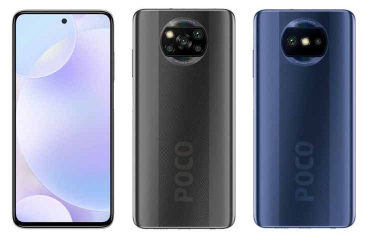 A mysterious novelty from POCO - on the right