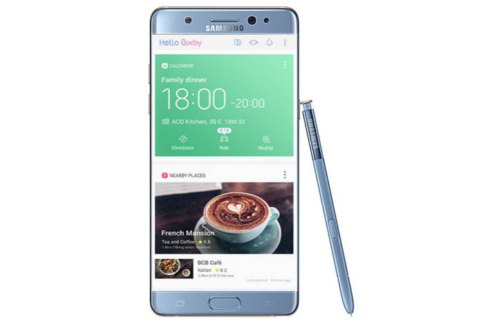 Samsung Galaxy Note 7FE according to ETnews