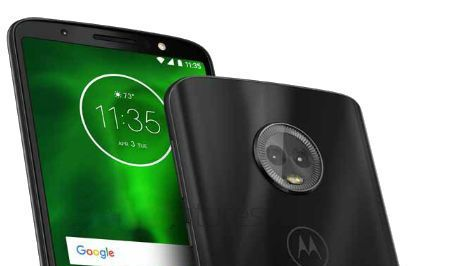 Photos of Moto G6 appeared on the Internet