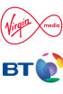 Virgin Media and BT signed new mobile deal