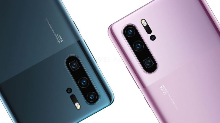 New Huawei P30 Pro housing colours
